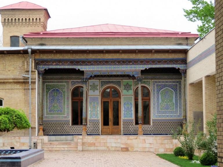 Museum of applied Arts in Tashkent Uzbekistan