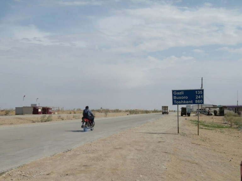How to get from Khiva to Bukhara in Uzbekistan