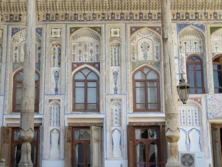 Traditional house in Bukhara Uzbekistan