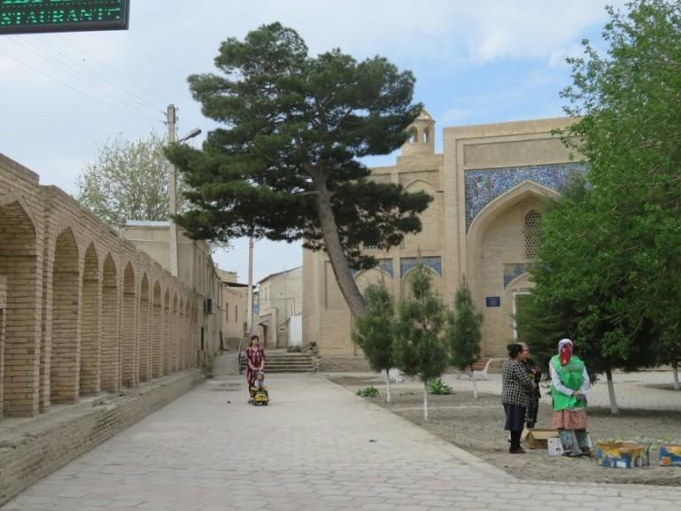 Khoja gaukushan in Bukhara Uzbekistan