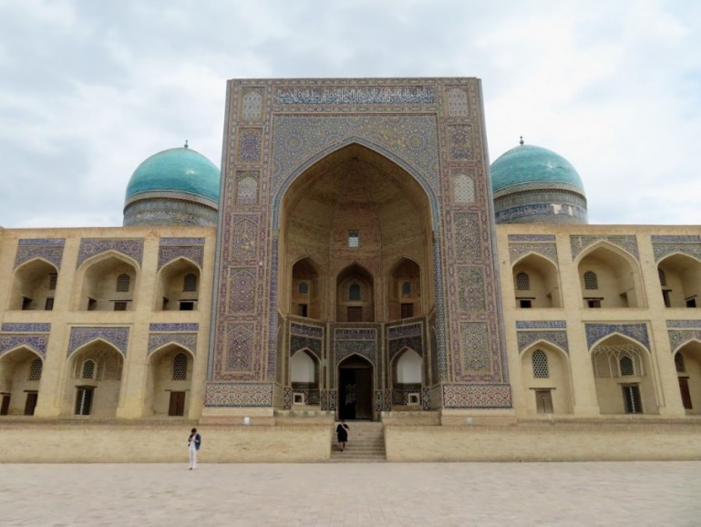 Mosque in Bukhara. Any Uzbekistan itinerary will be full of beautiful Islamic architecture