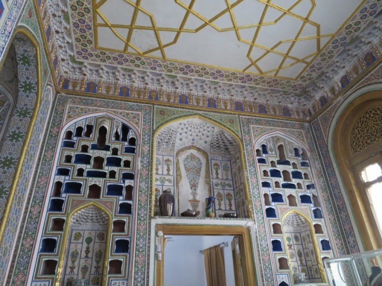 Sitori I mokha palace in Bukhara Uzbekistan