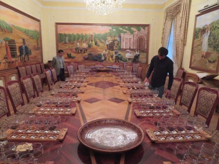 Hovrenko wine tasting in Samarkand Uzbekistan