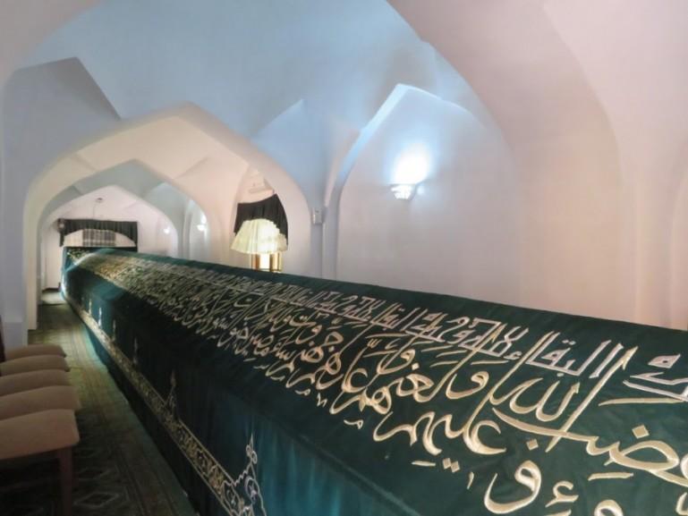 Tomb of the prophet Daniel in Samarkand Uzbekistan