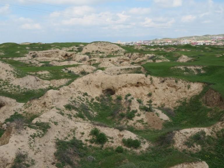 Afrosiab Settlement in Samarkand Uzbekistan