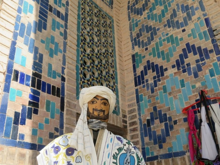 bazaar in Samarkand Uzbekistan