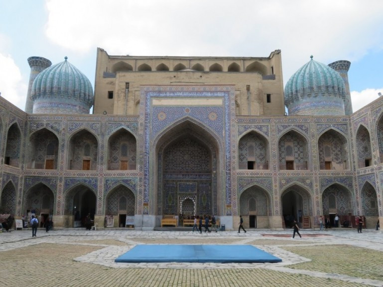 Registan is among the top thinmgs to do in Samarkand Uzbekistan