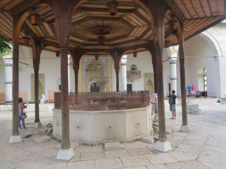 Gazi Husrev-beg mosque in Sarajevo Bosnia