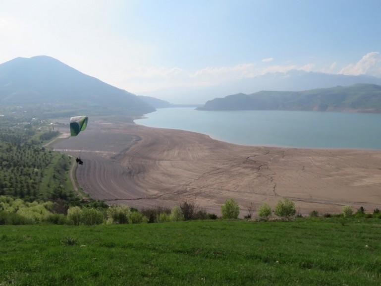 Charvak lake Uzbekistan