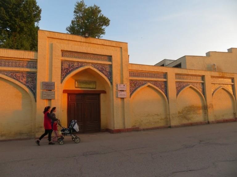 madrassah in margilon in the Fergana Valley in Uzbekistan