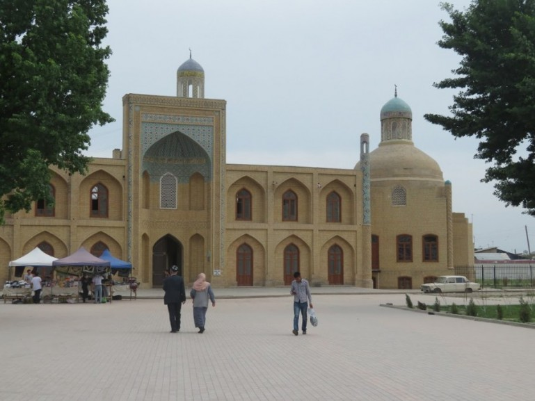 madrassah in Namangan in the Fergana Valley in Uzbekistan