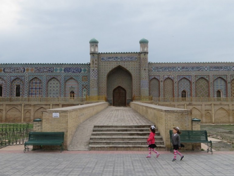 Khudayar Khan palace in Kokand Fergana valley in Uzbekistan