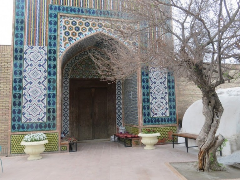 Modari Khan Mausoleum in Kokand in the Fergana Valley in Uzbekistan