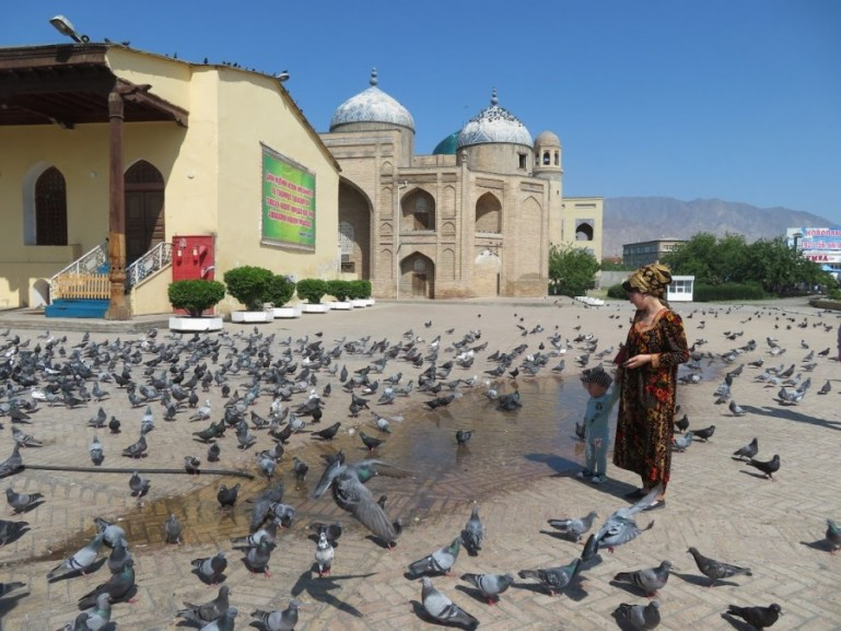 The Sheikh mausoleum in Khujand Tajikistan