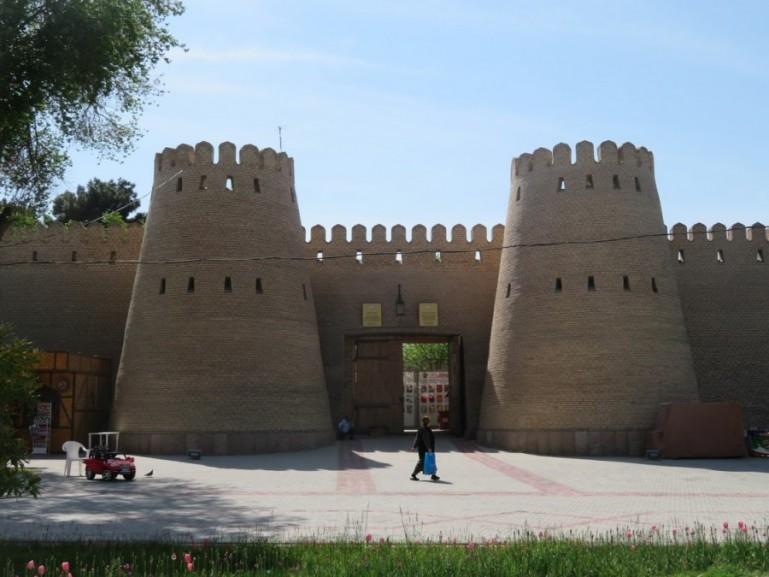 Khujand citadel