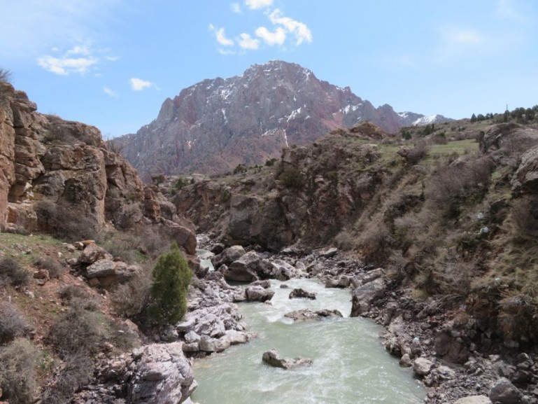 The Fann mountains are among the top things to do in Tajikistan