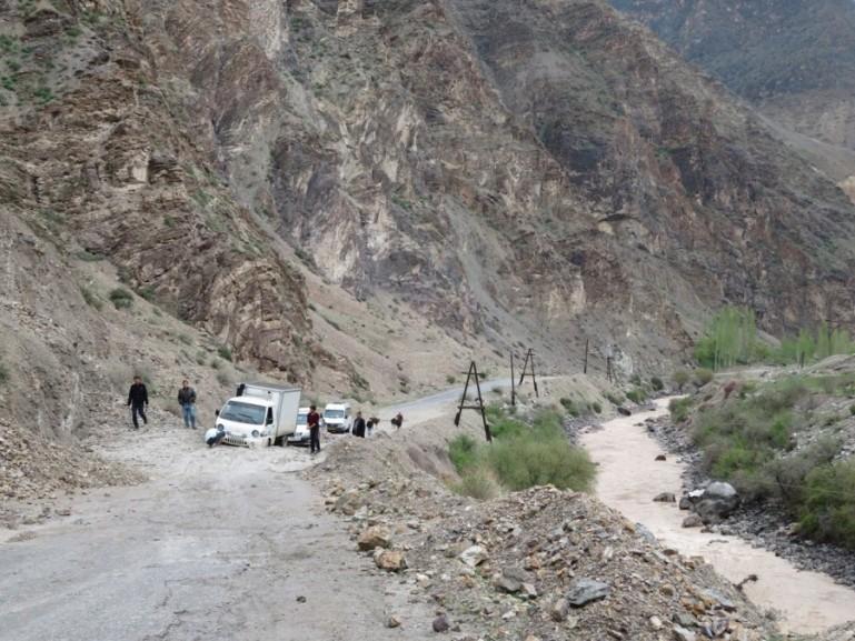 Shared taxi's in Tajikistan