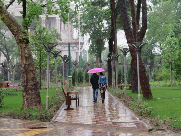 Komsomol Park is among the best things to do in Dushanbe Tajikistan
