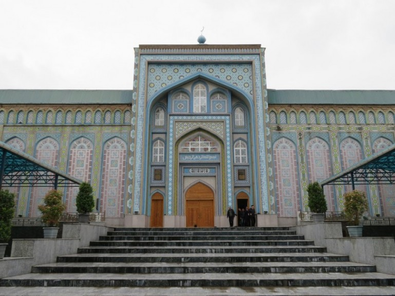central mosque in Dushanbe Tajikistan