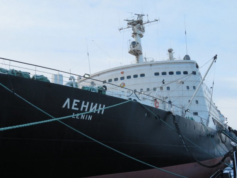 The Lenin icebreaker is among the top things to do in Murmansk
