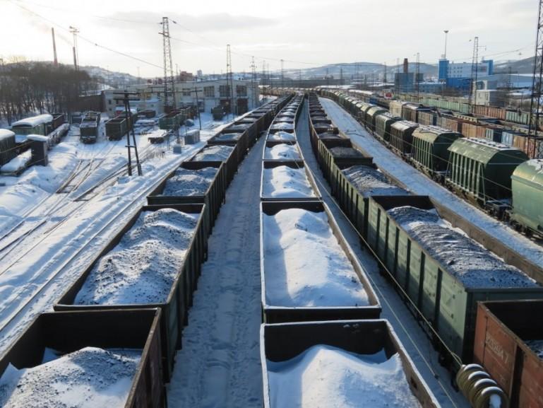 Murmansk train station
