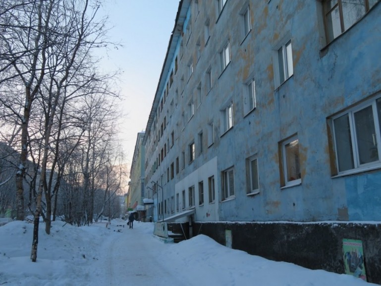 Soviet flats in Murmansk