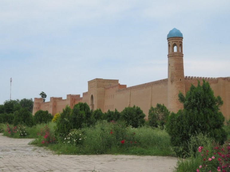 The Hulbuk fortress on the Pamir highway Tajikistan