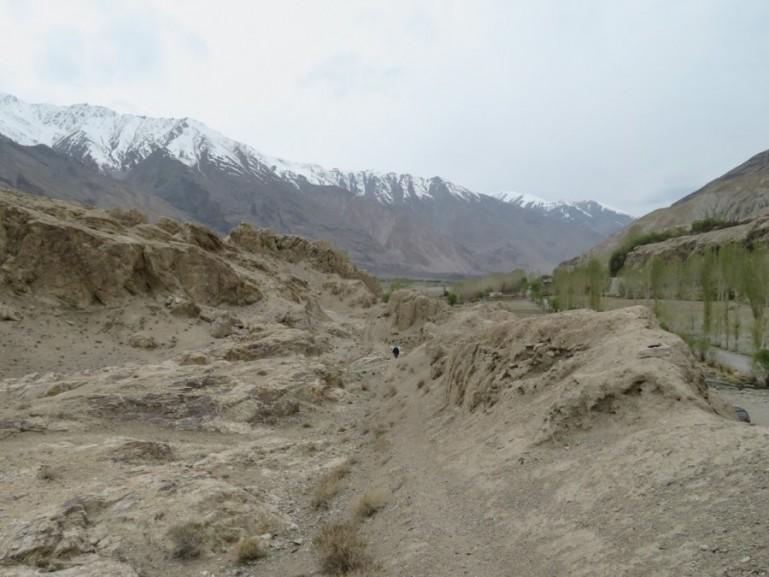 Namadgut fort on the Pamir highway Tajikistan