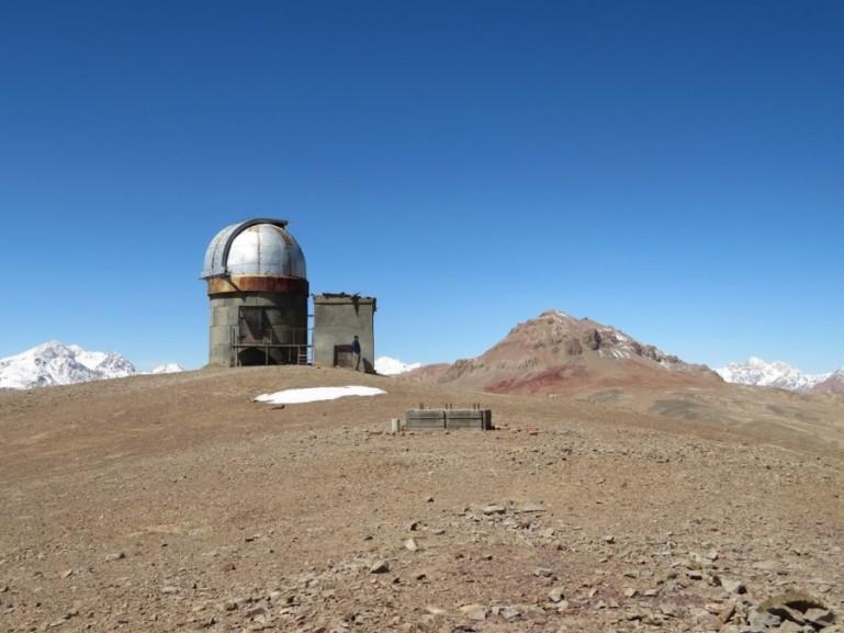 Shorbulak observatory on the Pamir highway Tajikistan