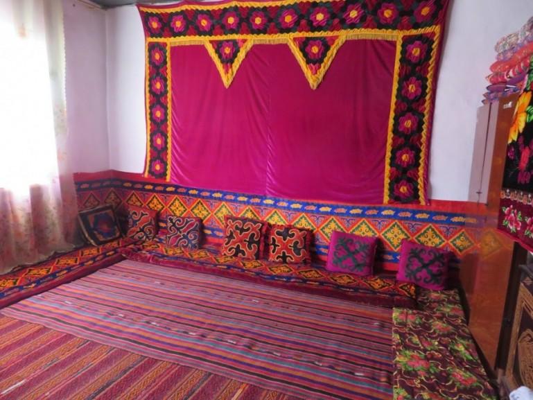 Kyrgyz homestay on the Pamir highway Tajikistan
