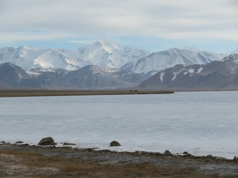 Lake Karakul where a lot of people get altitude sickness