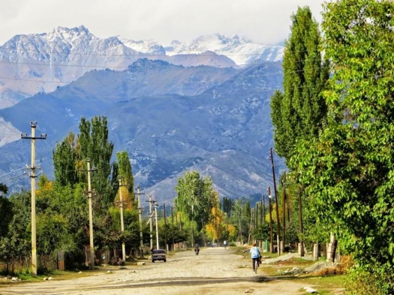 Ananyevo on the way from Bishkek to Karakol