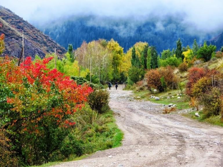 Altyn Arashan Kyrgyzstan