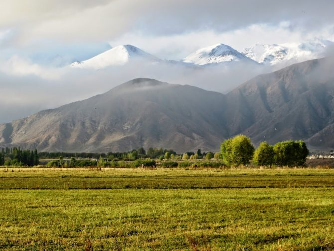 How to travel from Bishkek to Karakol in Kyrgyzstan