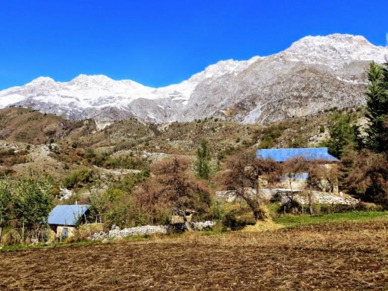 village life in Arslanbob Kyrgyzstan