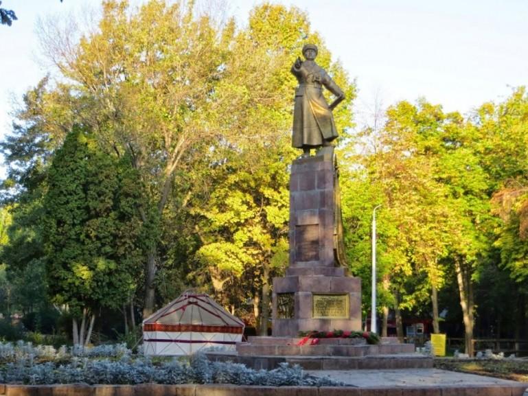 Panfilov Park in Bishkek Kyrgyzstan