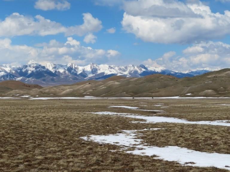 Sary Mogul valley in Kyrgyzstan