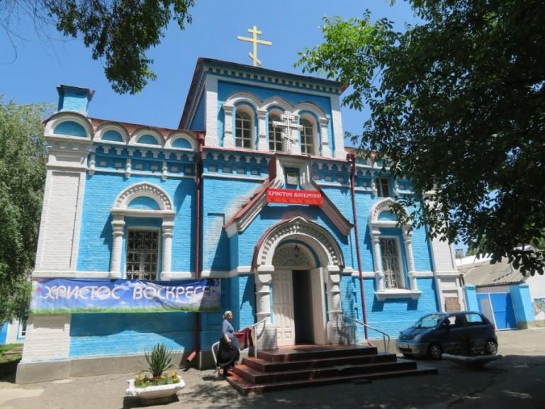 Orthodox church in Osh Kyrgyzstan