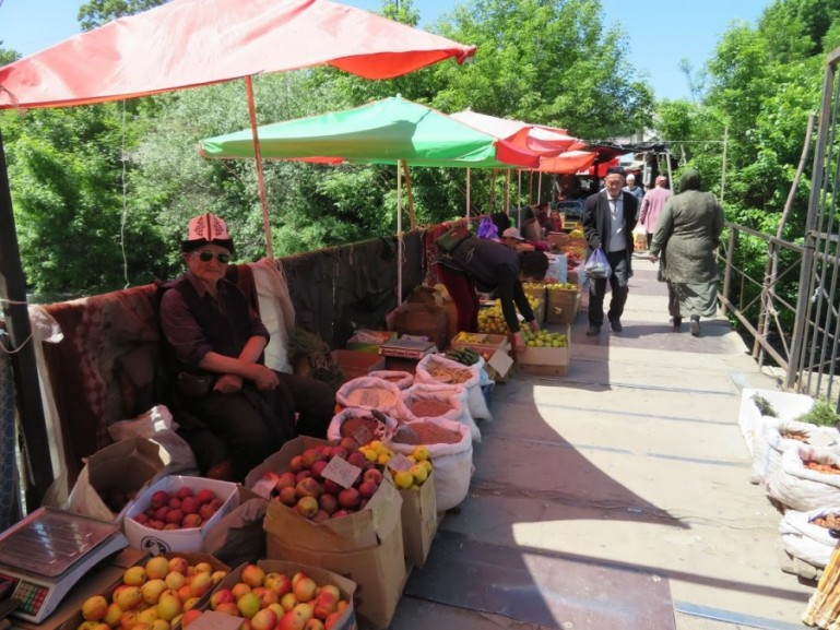 Jayma bazaar in Osh Kyrgyzstan. One of the top things to do in Osh