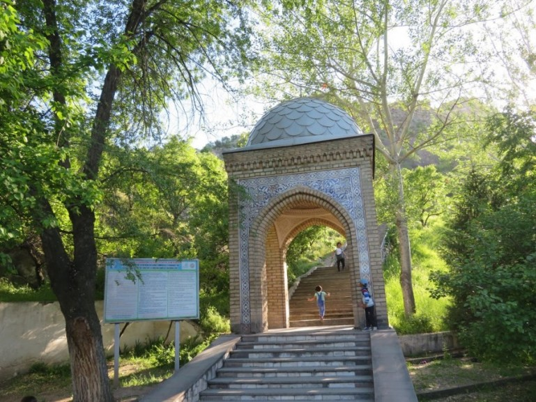 Suleiman too mountain in Osh Kyrgyzstan. One of the top things to do in Osh.