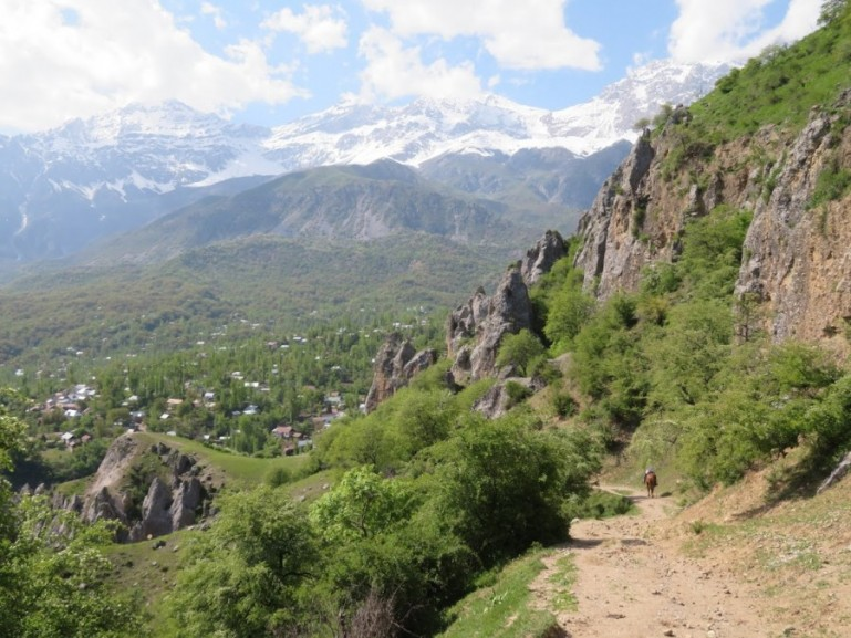 Arslanbob is one of the best places to visit in Kyrgyzstan for village life