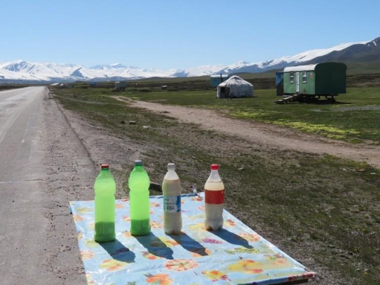 Kymyz is one of the best drinks in Kyrgyz food