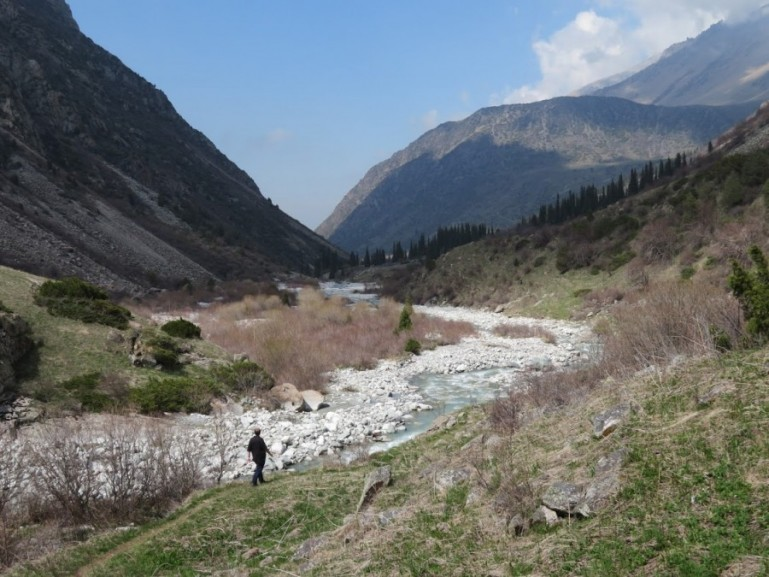 Ala Archa National Park in Bishkek Kyrgyzstan