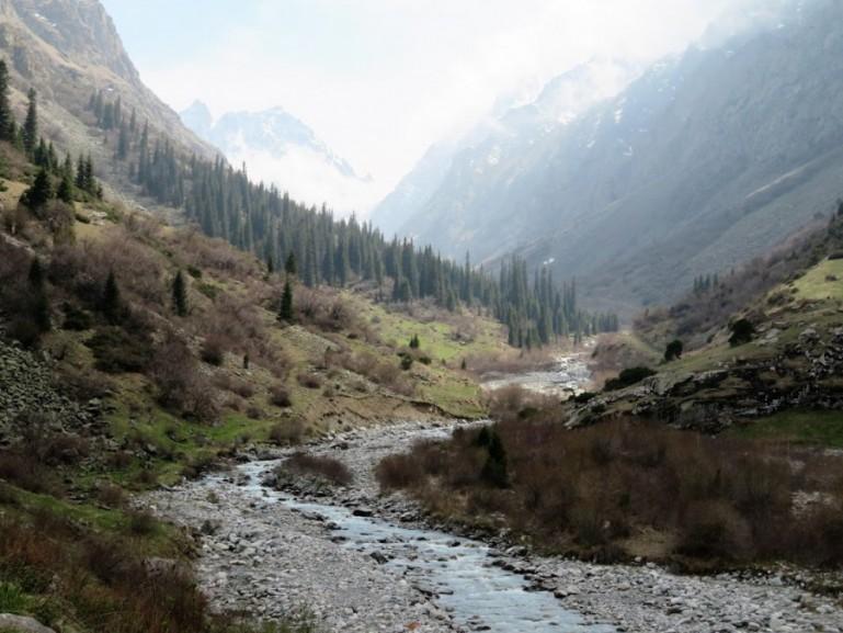Ala Archa National Park in Kyrgyzstan