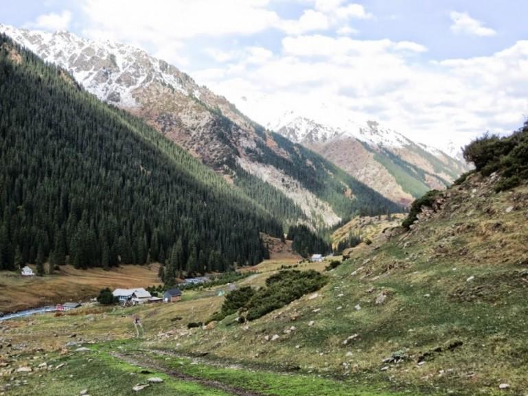 Altyn Arashan in Kyrgyzstan