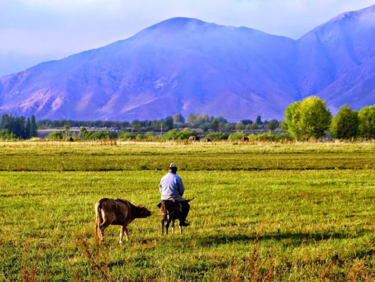 Bokonbaevo is one of the best places to visit in Kyrgyzstan to explore the southern shore of lake issyk kul