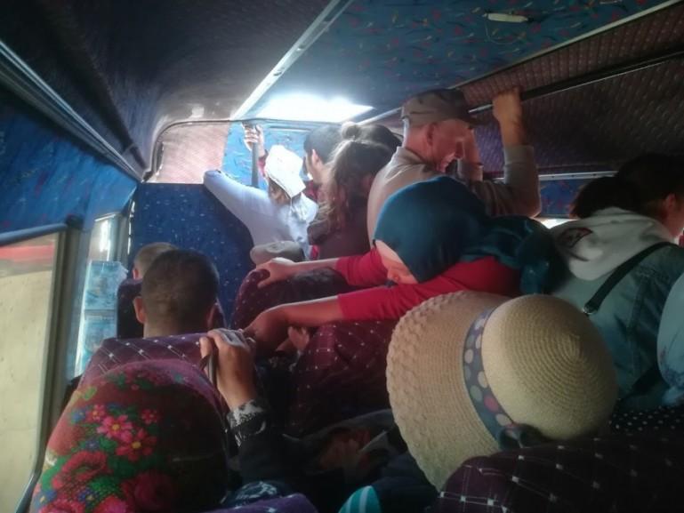 Marshrutka from Karakol to Jyrgalan Kyrgyzstan