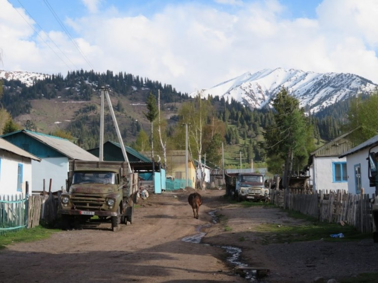 Village life in Jyrgalan Kyrgyzstan