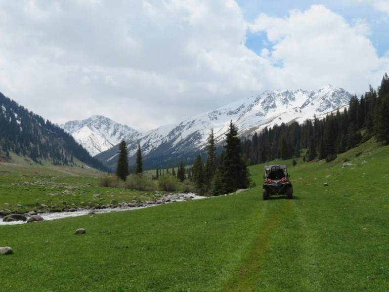 Buggying in Jyrgalan Kyrgyzstan