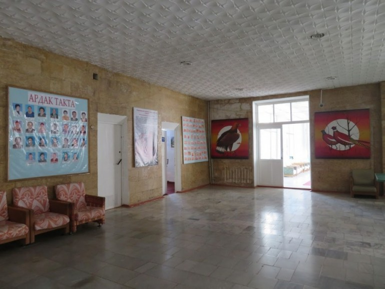 The Jeti Oguz Sanatorium in Kyrgyzstan